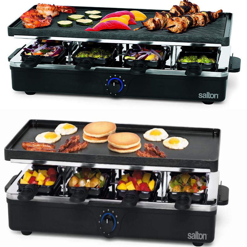 Best 8 Persons Raclette Machine India 2021